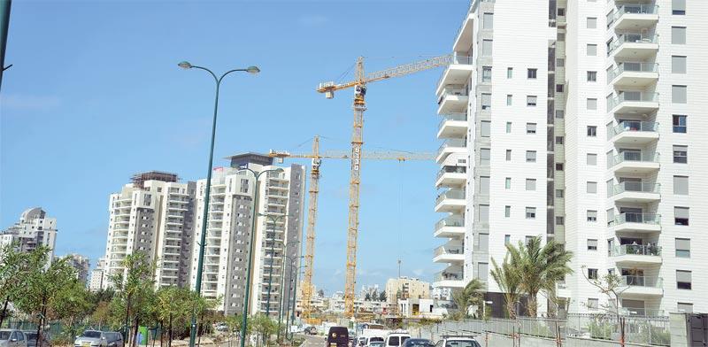 Israeli housing Photo: Tamar Matsafi