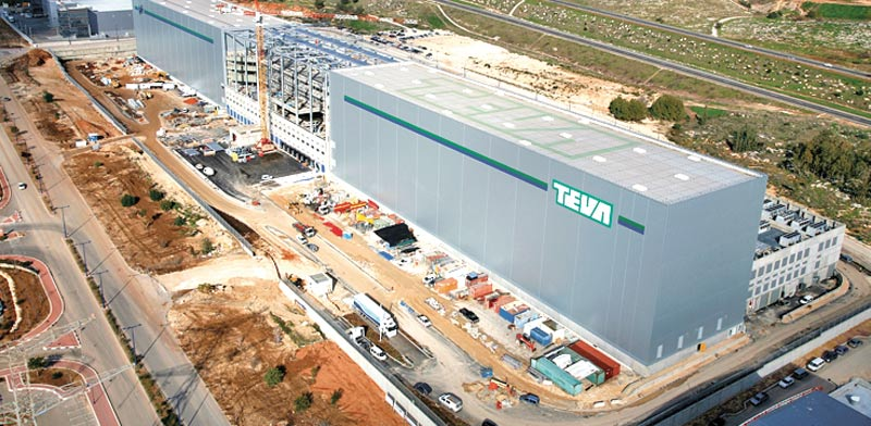 Teva SLE logistics center  photo: PR