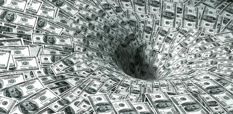 Dollars Photo: Shutterstock