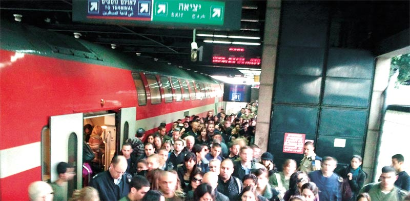 Israel Railways photo: Roni Bar-On