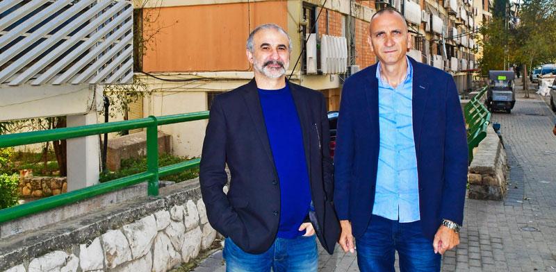 Yossi Aton and Uri Bar Sheshet Photo: Rafi Kutz