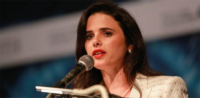 Ayelet Shaked Photo: Shlomi Yosef