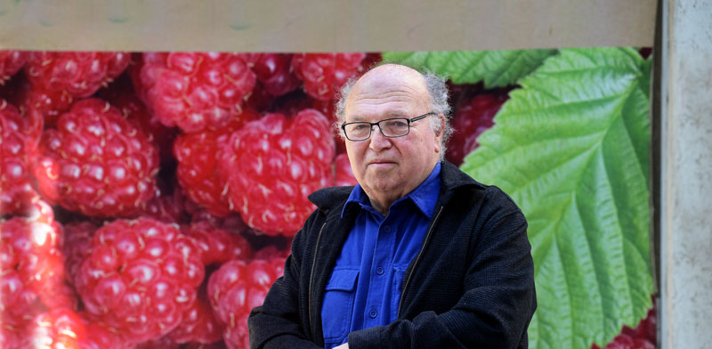 Prof. David Zilberman  photo: Eyal Izhar