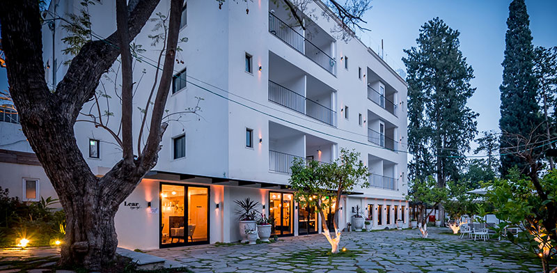 Lear Sense Hotel in Gedera Photo: Itay Sikolsky