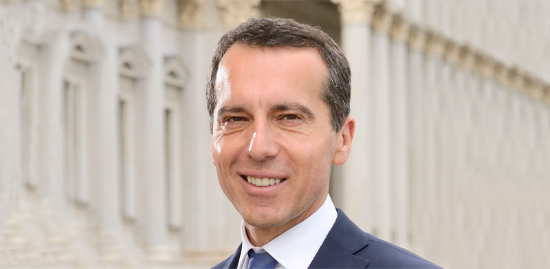Christian Kern Photo: Wikipedia